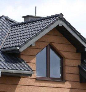 Крыши любой сложности,отопление, камины , печи