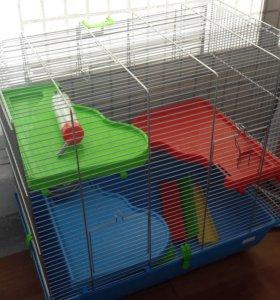 Клетка большая для крыс и хомяков