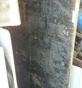 Дверь железная входная ровная 190 * 80
