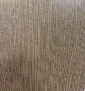 Подоконник пластиковый цвет коричневый 1.45х0.50