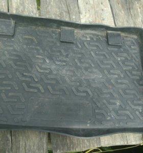 Коврик в багажник на kio rio lll