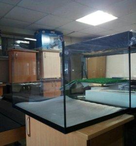 Новый 60 литровый террариум для черепах