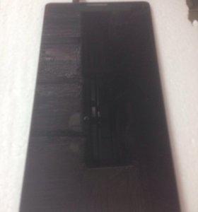 Дисплей Lenovo K910 Vibe Z Чёрный Orig