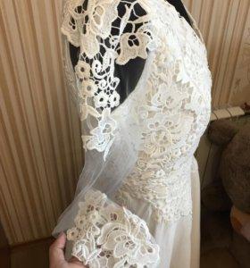 Новое белое (свадебное) платье