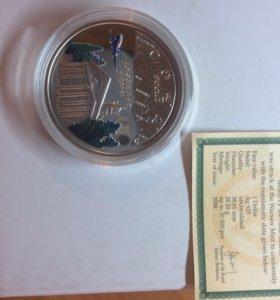 Коллекционная серебряная монета