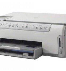 МФУ HP PhotoSmart C5183 с СНПЧ