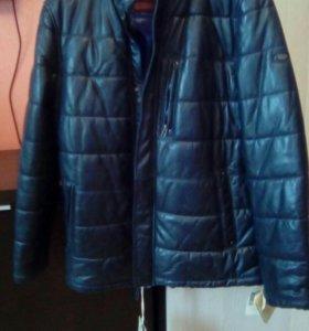 Новые кожаные мужские куртки