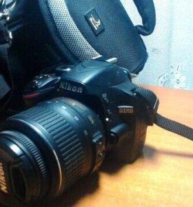 Nikon D3200 + чехол