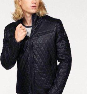Куртка Cipo & baxx (кожзам,мех)