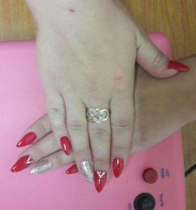 Покрытие гель- лак, наращивание ногтей