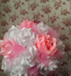 Атласные розы в любом цвете