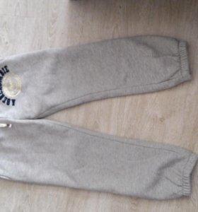 Утепленные домашние спортивные штаны