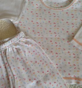 Пижама Mothercare 9-12 мес
