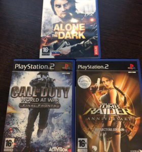 PlayStation 2 slim + Два джойстика + 12 игр
