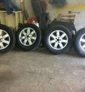 Оригинальные колёса от Honda CR-V