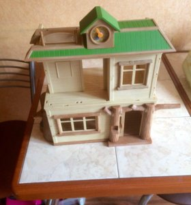 sylvanian families дом