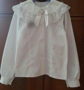 школьная блузка 128