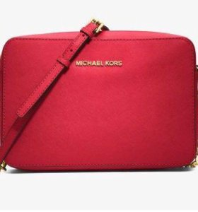 Новая Сумка Michael Kors Jet Set Large  bright red