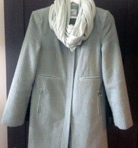 Пальто LFT с шарфиком весна / осень