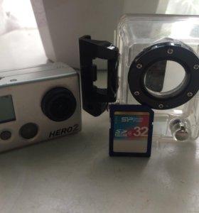 Hero GoPro 2 экшн камера
