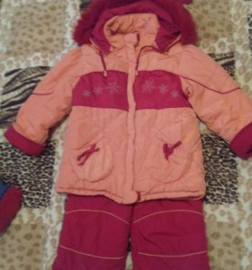 Костюм зимний (куртка+полукомбинезон)
