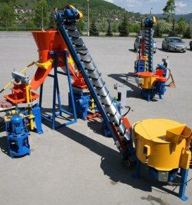 Оборудование для производства блоков, плитки и бордюров
