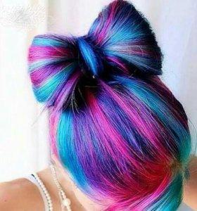 Пряди для волос.