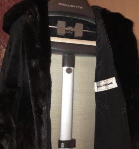 Меховое пальто из Норки (blackglama)
