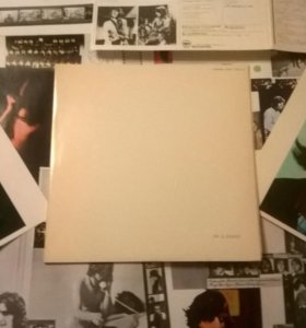 THE BEATLES - The Beatles white album Japan С НОМЕРОМ
