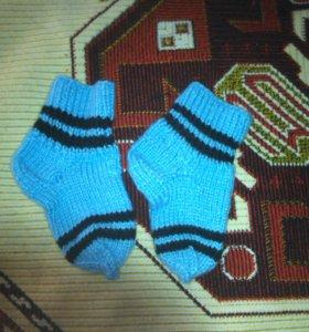 продам носки вязаные