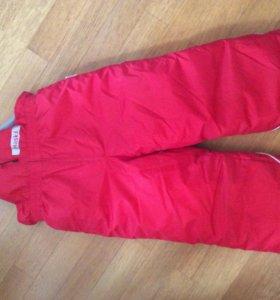 Полукомбинезон, брюки , размер104 зима