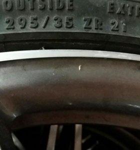 Шины Continental cross contact 295/35 ZR21 107Y
