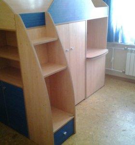 """Мебель для детской комнаты """"Радуга"""""""
