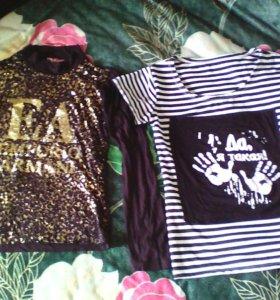 Кофточка и футболочка