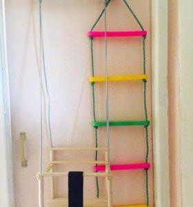 Качеля и лестница