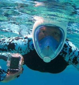 Самая удобная маска для плавания Easybreath