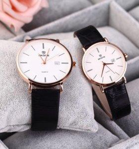 Сверхтонкие Наручные мужские часы Skone 9307