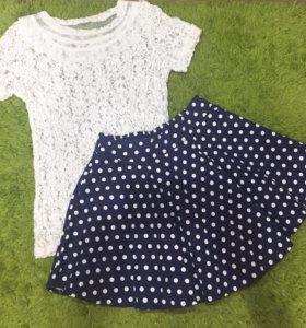 Новая юбка и блузка !!!