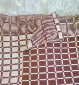 Тёплое шерстяное одеяло