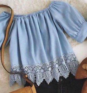 Красивая блузка не одета не разу
