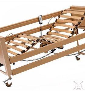 Функциональная медицинская кровать для лежачих больных с электроприводом