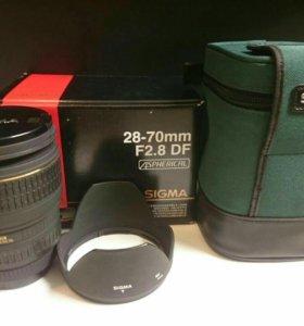Объектив Sigma 28-70mm f2.8 DF for Canon
