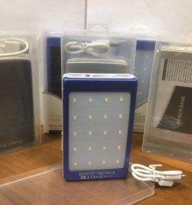 Солнечный аккумулятор Power Bank 20000 mAh