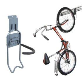 Крюк на рейлинг для велосипеда за колесо