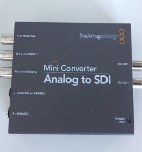 Blackmagic design Analog to SDI