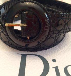 Кожаный ремень Christian Dior Cannage (New)