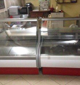 Витрина холодильная прилавок холодильник магазин