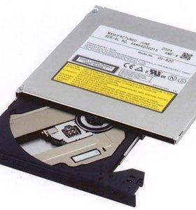 Привод для ноутбука внутренний dvdrw IDE, SATA