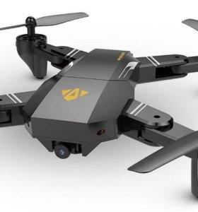 Новый квадрокоптер Visuo XS809W с камерой и Wi-Fi