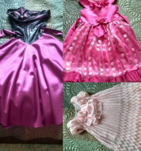 Платья на девочку 5-7лет